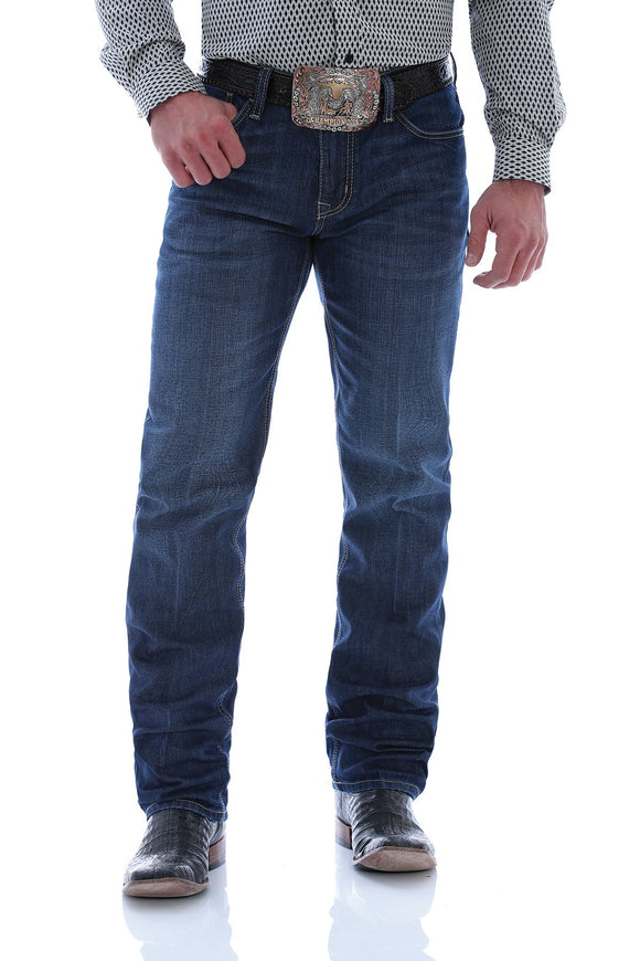 MEN'S CINCH JESSE ARENAFLEX SLIM FIT STRAIGHT LEG JEAN/INDIGO-MB50938001