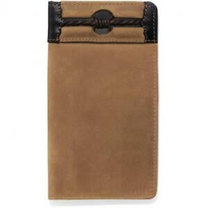 SILVER CREEK FENCED IN CHECKBOOK WALLET-E80214