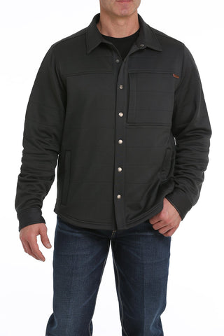 MEN'S CINCH QUILTED SHIRT JACKET/HEATHER CHARCOAL-MWJ1227001