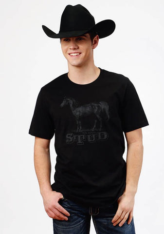 TIN HAUL T-SHIRT/BLACK-10-076-0501-0878BL