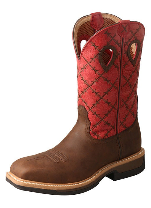 MEN'S TWISTED X ALLOY TOE LITE WESTERN WORK BOOT-MLCA005