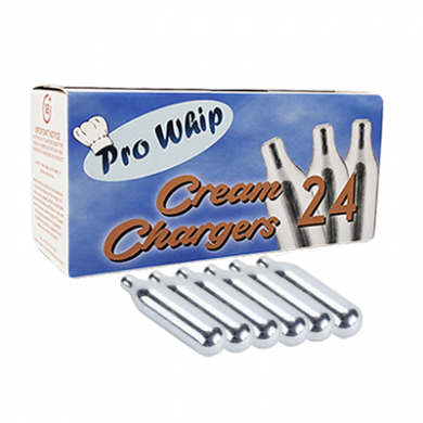 Pro Whip Cream  Chargers 24 Pack