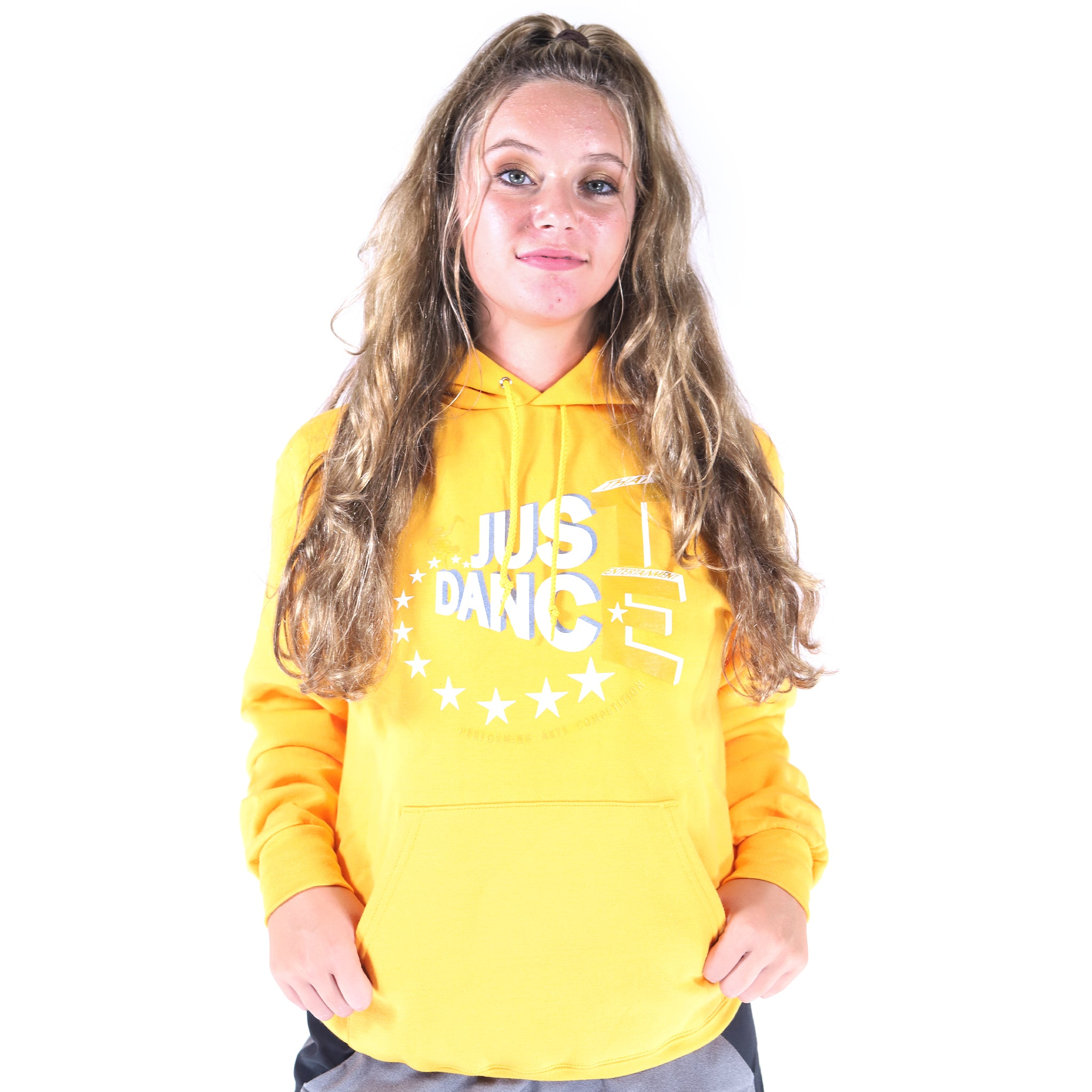 TE Just Dance Hoodie Gold with Gold