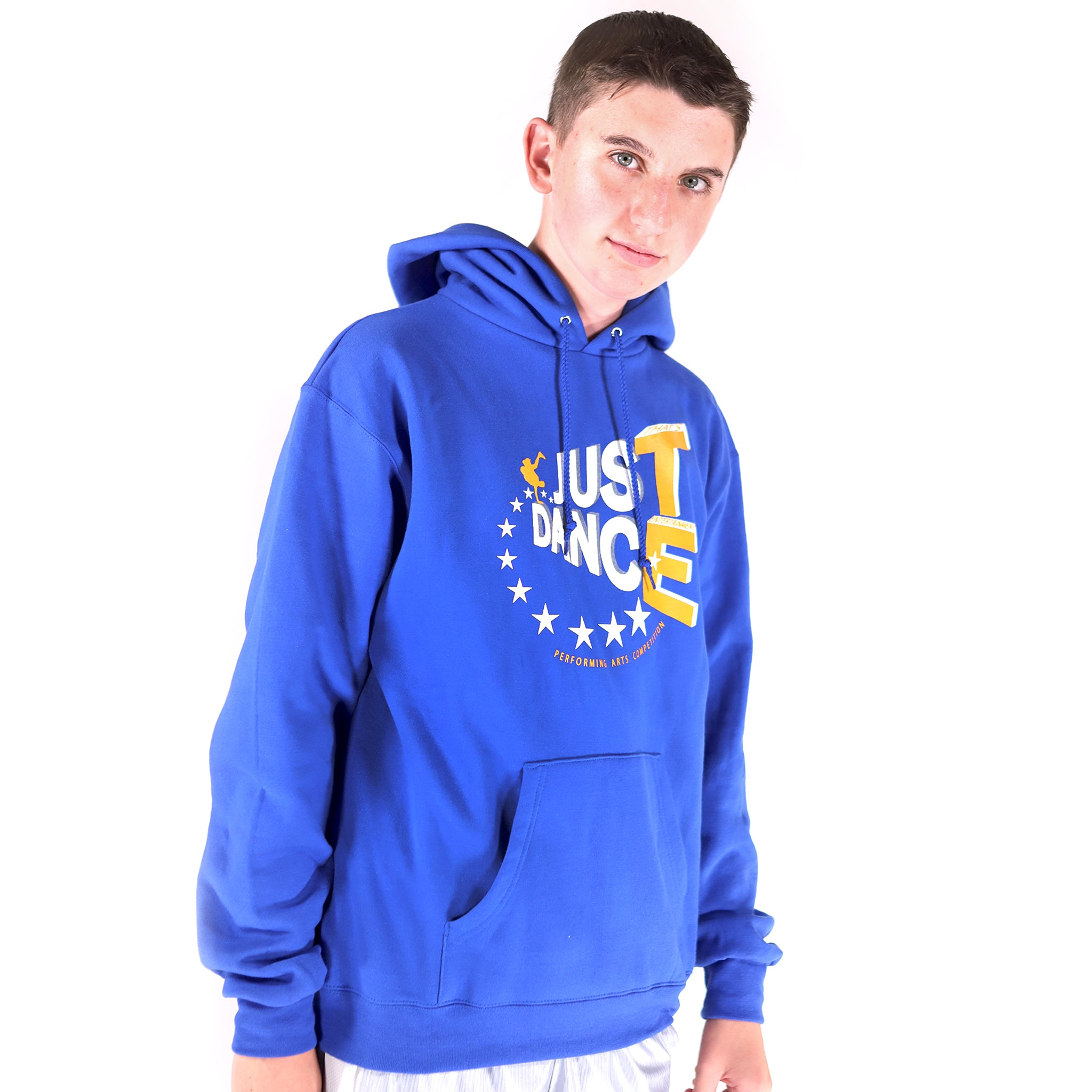 TE Just Dance Hoodie Blue with Gold