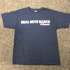 Real Guys Dance Navy T-Shirt