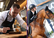Load image into Gallery viewer, COOK & RIDE: Winner of TOP CHEF 2020, Michelin starred Chef David Gallienne & rider Titouan Schumacher
