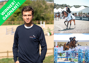 One day with Edward Levy at EQUITA'LYON with a VIP Pass
