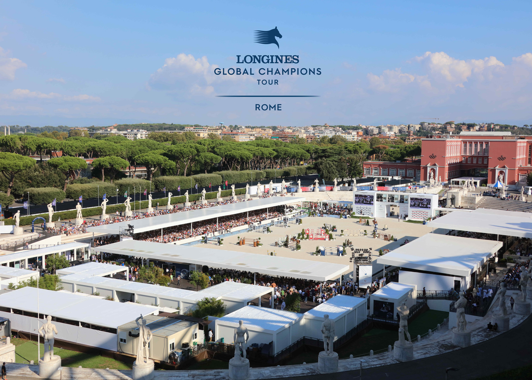 VIP Table for 6 at the 2021 Longines Global Champions Tour in Rome