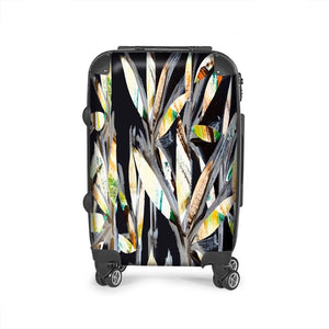 Classy Cut Out Leaf Suitcase