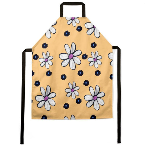 Quirky Flower (Yellow) Apron