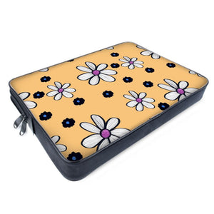 Quirky Flower (Yellow) Laptop Bag