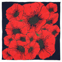 Load image into Gallery viewer, Beautiful poppy Scarf