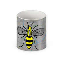 Load image into Gallery viewer, Manchester Map and Bee Mug