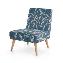 Load image into Gallery viewer, Gorgeous Seahorse Design Occasional Chair