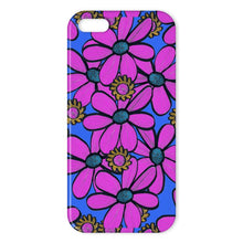Load image into Gallery viewer, Bright Pink Quirky Floral design Phone Case