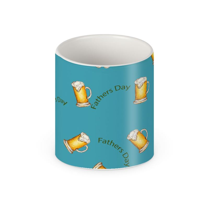 Fathers Day Mug in blue