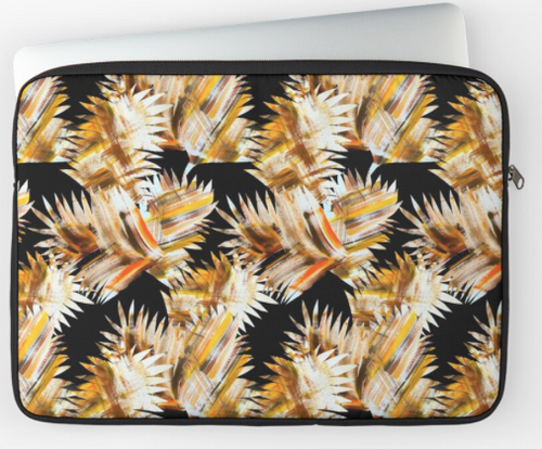 Funky Leaves Laptop Sleeve