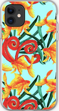 Load image into Gallery viewer, Funky Goldfish Phone Case