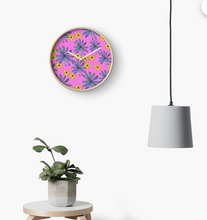 Load image into Gallery viewer, Balloon Flower Clock