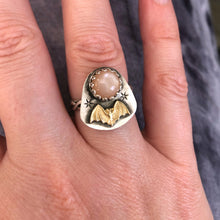 Load image into Gallery viewer, Chocolate Moonstone Ring
