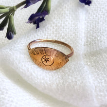 Load image into Gallery viewer, Talisman Eye Ring size 5.75