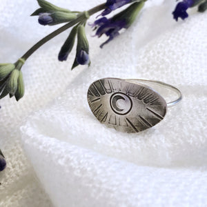 Talisman Eye Ring size 7