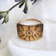 Load image into Gallery viewer, Talisman Eye Ring size 7.5