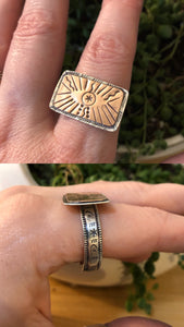 Talisman Eye Ring size 9