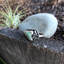 Load image into Gallery viewer, Succulent Variscite Ring (8.75)