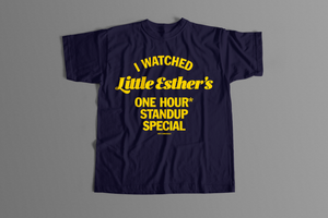 "Hot For My Name ""I Watched"" Tee NAVY BLUE"