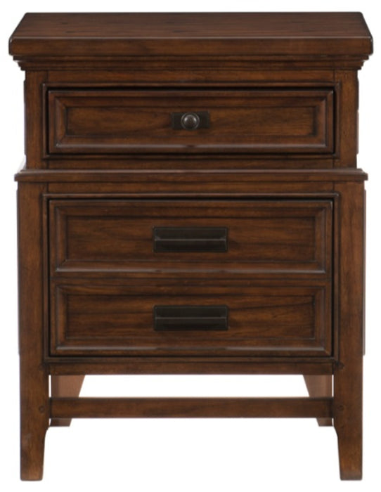 Homelegance Frazier Nightstand in Dark Cherry 1649-4 image
