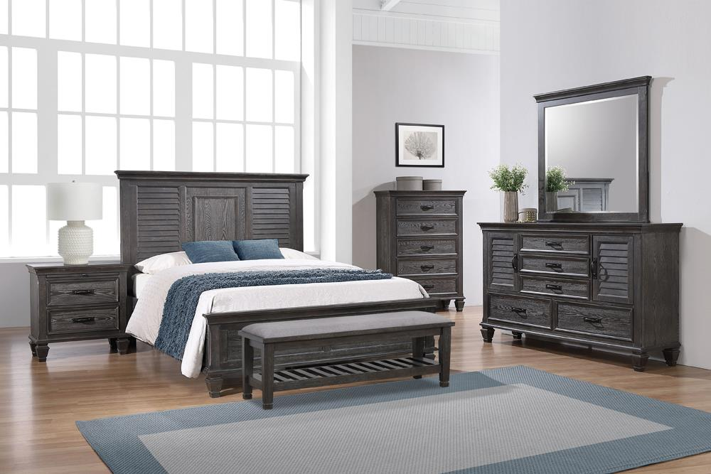 G205733 Queen Bed 4pc Set image