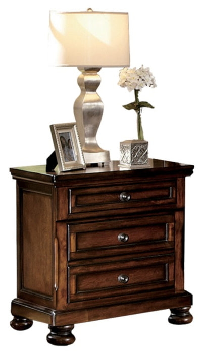 Homelegance Cumberland Nightstand in Brown Cherry 2159-4 image