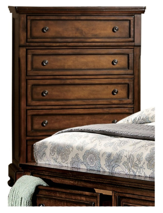 Homelegance Cumberland Chest in Brown Cherry 2159-9 image