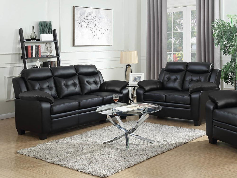 Finley Casual Brown Two-Piece Living Room Set image