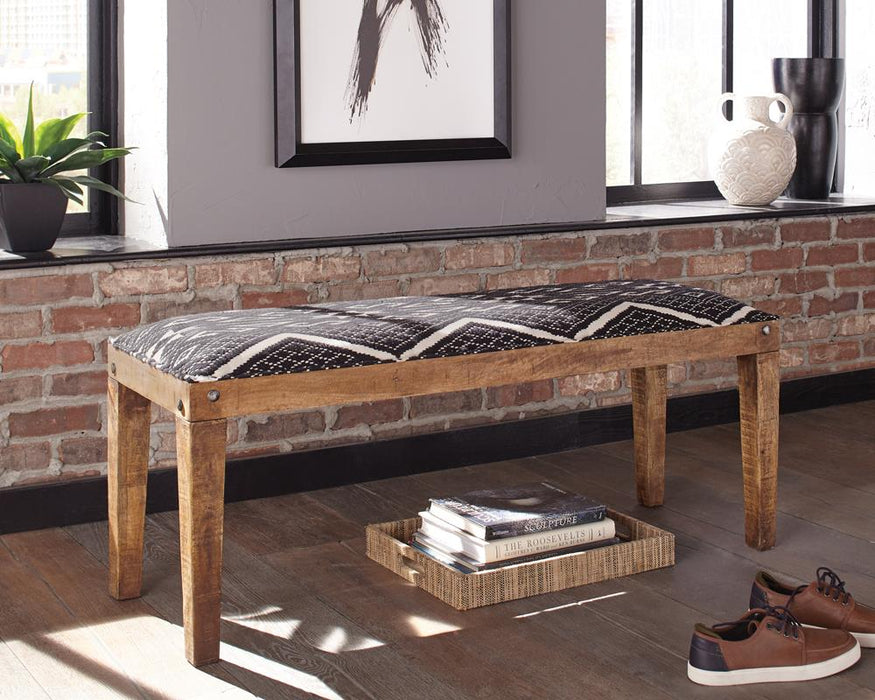 Bohemian Upholstered Bench image
