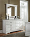 Anarasia Signature Design by Ashley Bedroom Mirror image