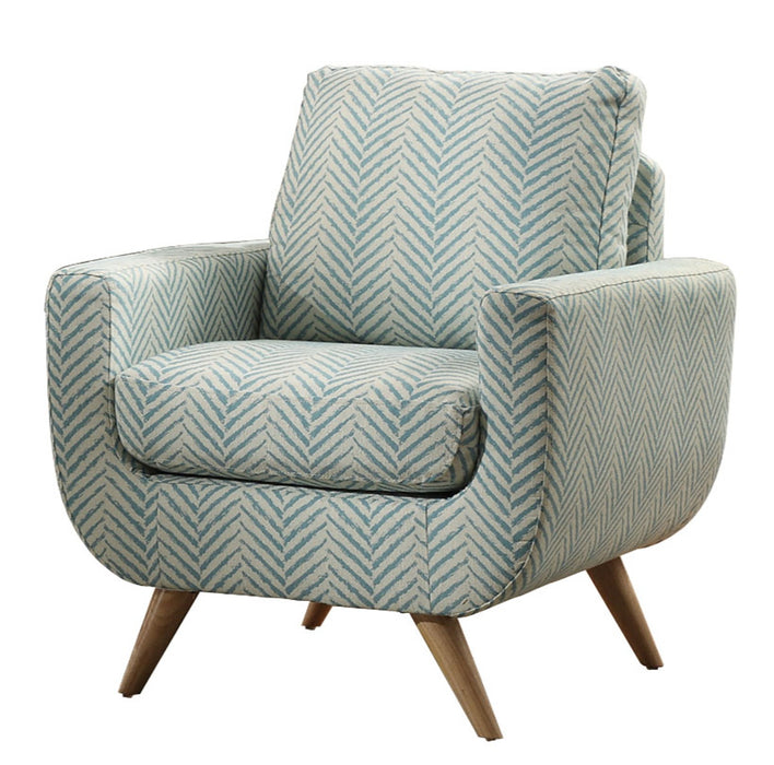 Homelegance Furniture Deryn Accent Chair in Teal 8327TL-1S image