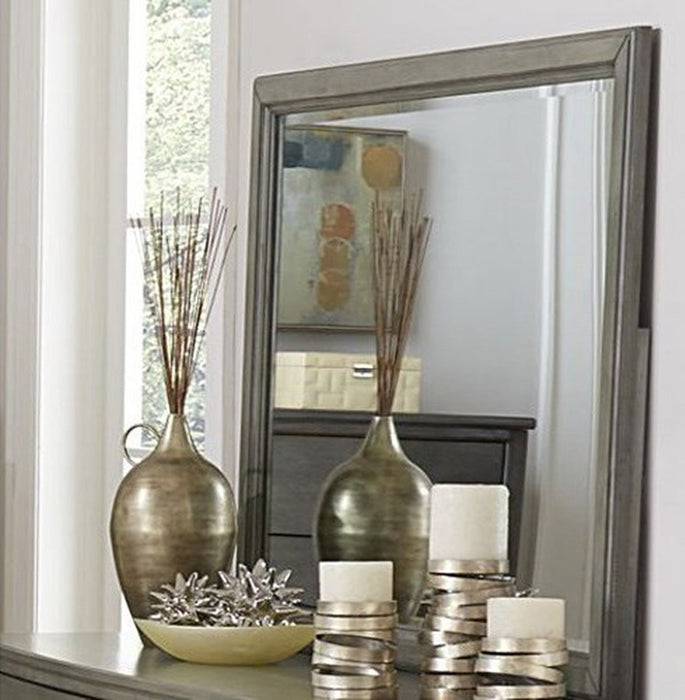 Homelegance Cotterill Mirror in Gray 1730GY-6 image