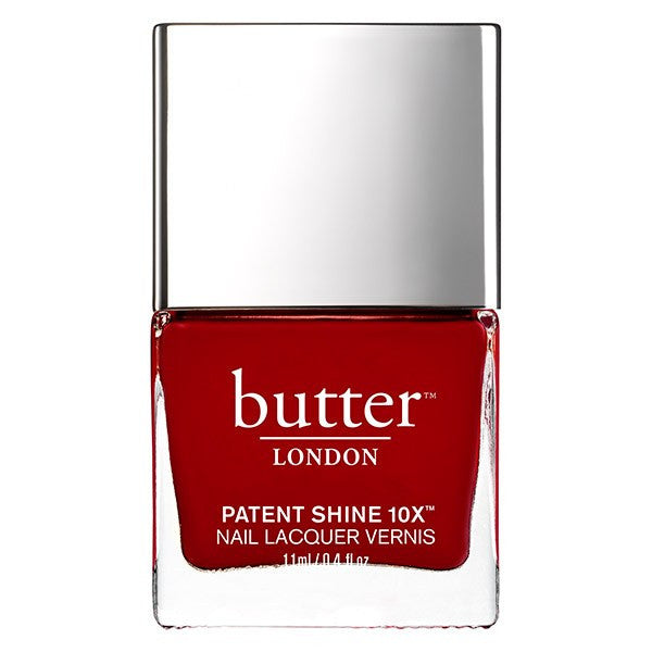 Butter LONDON - Patent Shine 10X Nail Lacquer: Her Majesty's Red 0.4 fl oz/ 11 ml