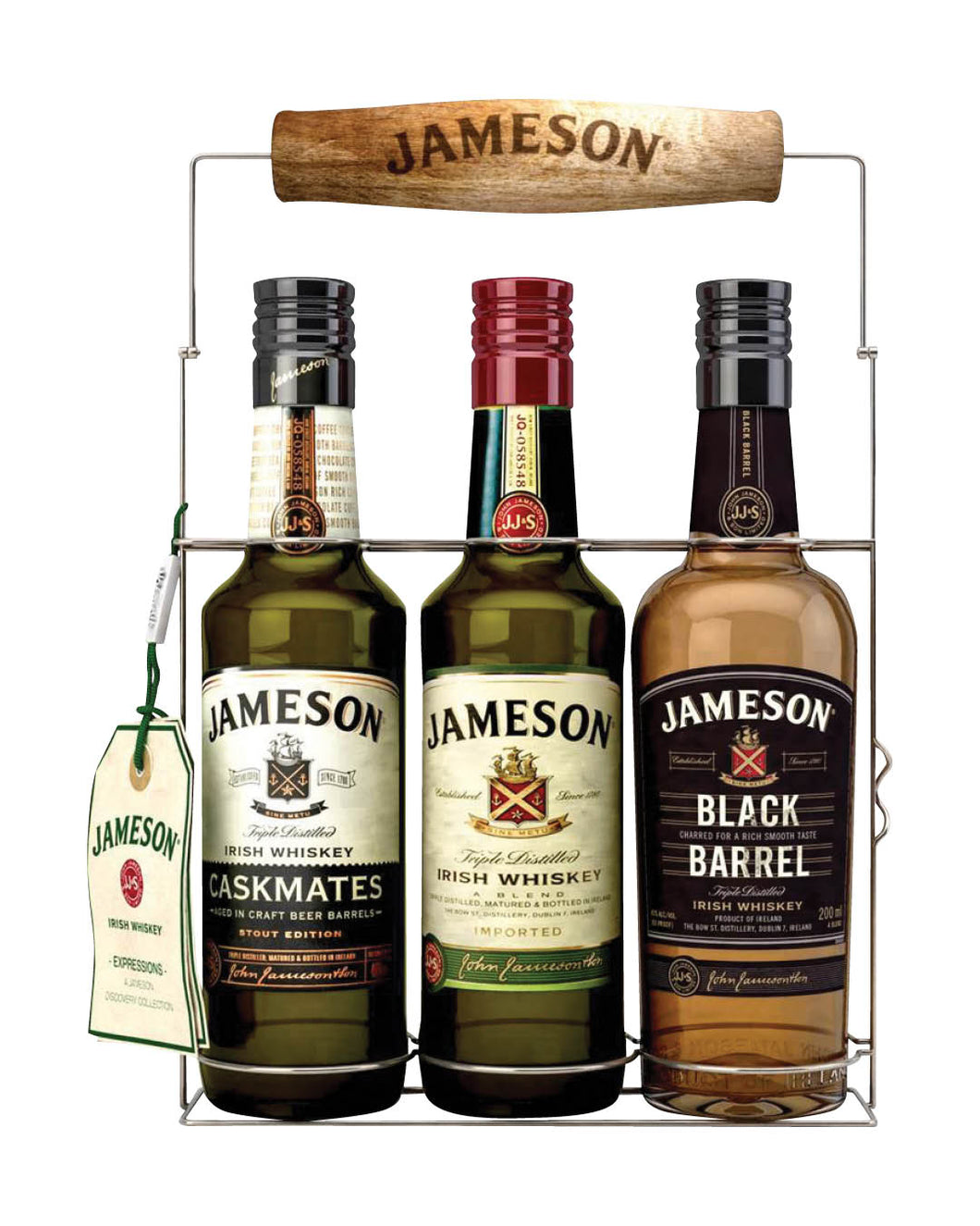 Jameson Premium Triple x 200ml + Wire Frame Gift Pack