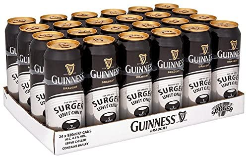 Guinness Surger Can (Surger not included)