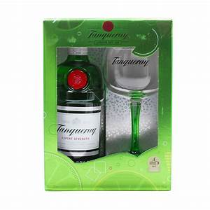 Tanquerary London Dry Gin 70cl Glass Pack