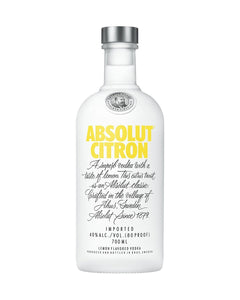 Absolut Citron 700ml