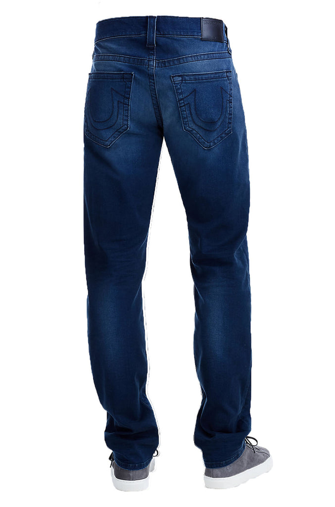 True Religion Men's Geno With Flap Relaxed Slim Jeans
