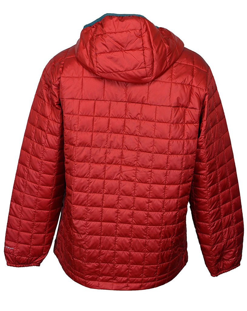 Columbia Men's Rilan Ridge Hooded Jacket-Rocket Red