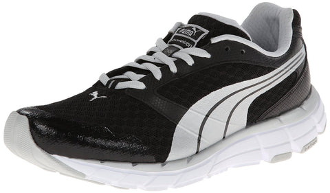 Puma Women's Poseidon Cross-Training Shoe-Black/Puma Silver