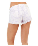 True Religion Women's Keira Mid Rise Shorts