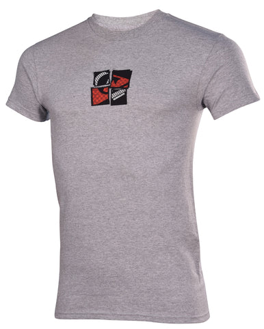 Quiksilver Men's Losing it Honolulu T-shirt-Gray Heather