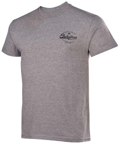 Quiksilver Men's Last Hurrah Graphic T-Shirt-HeatherGray